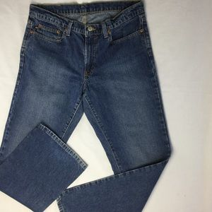 Ralph Lauren Polo Sz 12 Classic Boot Cut Mom Jeans